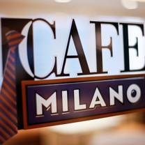 photo of café milano restaurant