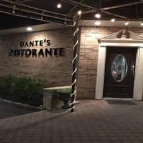 foto von dante's ristorante restaurant