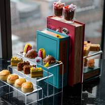 photo of afternoon tea at 20 stories restaurant