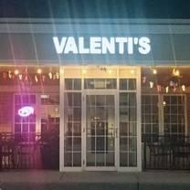 photo of valenti's ristorante restaurant