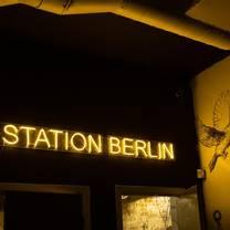photo of station berlin restaurant
