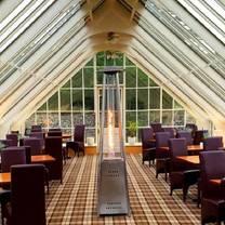 photo of rowallan castle glasshouse restaurant restaurant