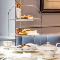 photo of afternoon tea at the davenport hotel restaurant
