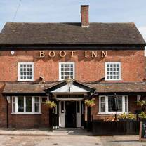 photo of the boot inn - sutton coldfield restaurant