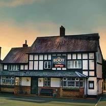 photo of the boot inn restaurant