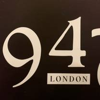 photo of 1947 london restaurant