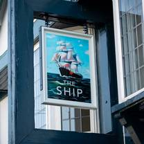 photo of ship restaurant