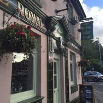 photo of the royal oak swindon restaurant