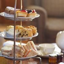 photo of afternoon tea at headlam hall restaurant