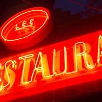 foto von lee restaurant