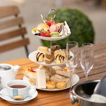 photo of afternoon tea at salt water cafe restaurant