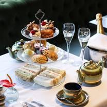 photo of afternoon tea at the bracebridge restaurant