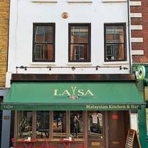 photo of laxsa soho restaurant
