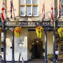 photo of the snooty fox restaurant