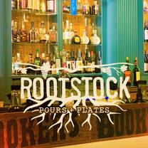 photo of rootstock pours + plates restaurant