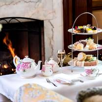 photo of afternoon tea at the old government house hotel restaurant
