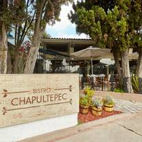 photo of bistro chapultepec restaurant