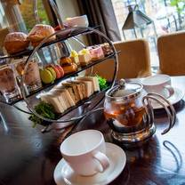 photo of afternoon tea at 101 brasserie & bar restaurant