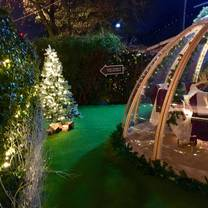 photo of the igloo at the waterway restaurant