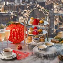 photo of afternoon tea at ting, shangri-la at the shard restaurant