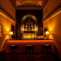 photo of champagne lounge at the merchant hotel restaurant