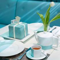 photo of the tiffany blue box cafe at harrods restaurant