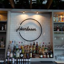 photo of heirloom restaurant