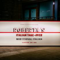 photo of roberta's italian disco diner restaurant