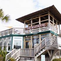 photo of boathouse at breach inlet restaurant
