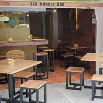 photo of 212 burger bar restaurant