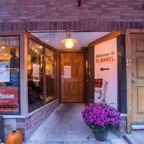 photo of flannel restaurant