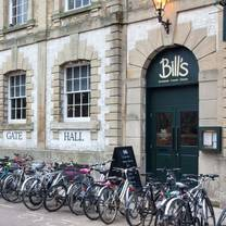 photo of bill's restaurant & bar - oxford restaurant