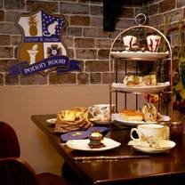 photo of afternoon tea at the potion room restaurant