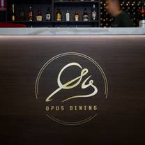 photo of opus dining restaurant