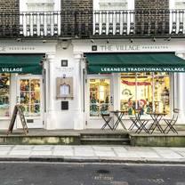 photo of the village paddington restaurant