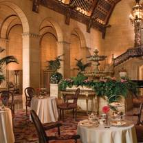 photo of rendezvous court at the biltmore los angeles restaurant