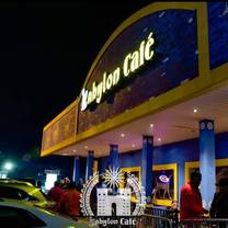 photo of babylon cafe restaurant