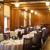 photo of the members' dining room at parliament buildings stormont restaurant