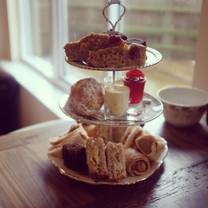 photo of afternoon tea at the brickyard cafe restaurant