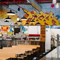 photo of graffiti market restaurant