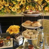 photo of afternoon tea at milk and honey restaurant