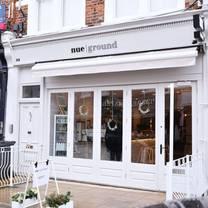 photo of nue ground clapham restaurant