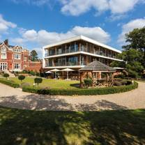 photo of the brasserie at wivenhoe house hotel restaurant