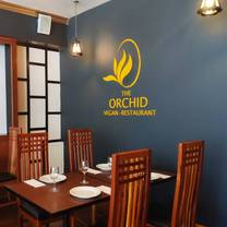 photo of the orchid vegan restaurant restaurant