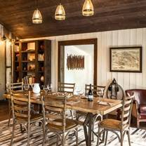 photo of alma rosa private estate experience restaurant