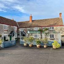 photo of the lion at pennard restaurant