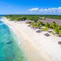 photo of punta venado beach club restaurant