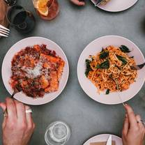 photo of roberta's italian disco diner restaurant