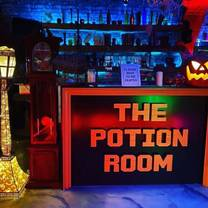 photo of the potion room restaurant