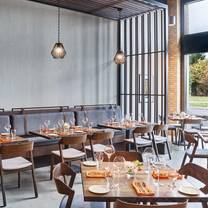 photo of vivian's table at the bristol hotel restaurant